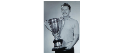 Gerhard Mengel with the US Amateur Cup