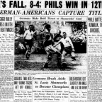 Amateur Soccer Timeline: Philly German-Americans first club to win consecutive Amateur Cup Titles 1933-1934