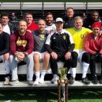 Christos Advances over Quantum FC in 2018 Region I Gerhard Mengel Over-30 Cup