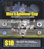 Digital Poster for 2018 National Amateur Cup Final