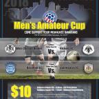 Digital Poster for 2018 National Amateur Cup Final